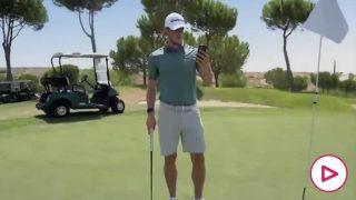 Bale, en el anuncio (Twitter)