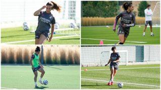 El Madrid femenino ya aporta cuatro futbolistas a la Selección sin haber debutado. (@realmadridfem)