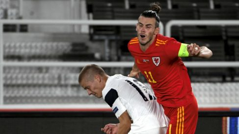 Bale jugó 45 minutos contra Finlandia. (AFP)