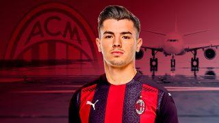 Brahim llega cedido al Milán.