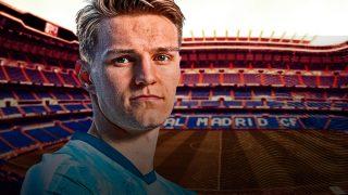 Máxima precaución en el Real Madrid con Odegaard.