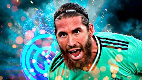 Sergio Ramos reaparecerá con el Real Madrid en Sevilla.