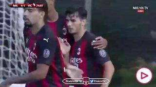 Brahim gol Milan
