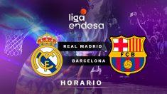 Real Madrid – Barcelona: final de la Supercopa Endesa.