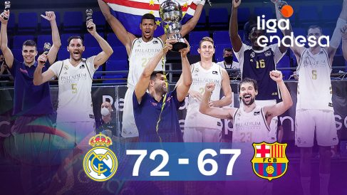 El Real Madrid levantó su séptima Supercopa tras vencer al Barcelona en la final.