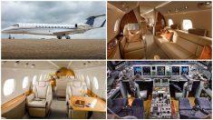 El Embraer Legacy 600, desde dentro.