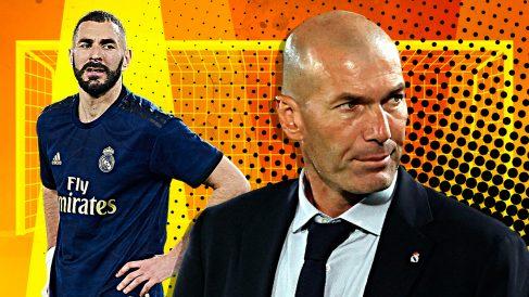 Zidane necesita otro delantero.