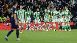 Una imagen del Betis-Real Madrid de la temporada pasada. (AFP)