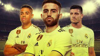 Mariano, Jovic y Mayoral, los tres nueves suplentes del Real Madrid.
