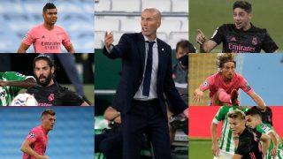 Zinedine Zidane tiene muchas variantes para el centro del campo.