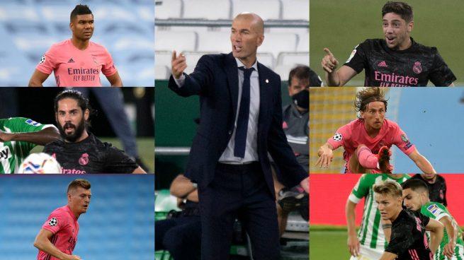 El puzzle de Zidane en el centro del campo