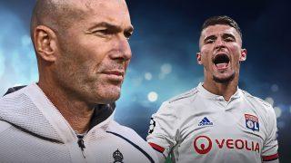Zidane apuesta por Aouar para la próxima temporada.