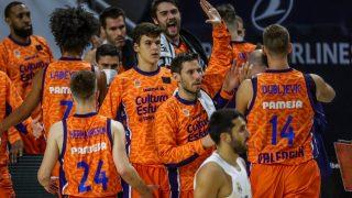 El Real Madrid cayó ante el Valencia en Euroliga. (EFE)