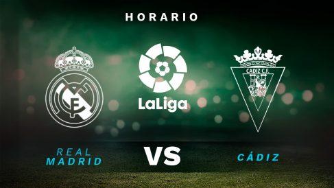 Liga Santander 2020-2021: Real Madrid – Cádiz| Horario del partido de fútbol de Liga Santander.