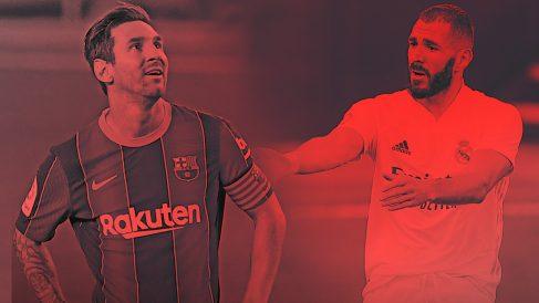 Real Madrid y Barcelona llegan al Clásico en plena crisis.