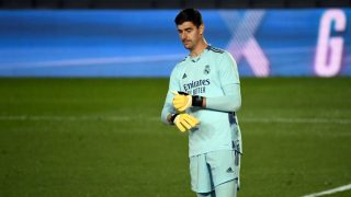 Courtois fue el mejor del Real Madrid. (AFP)