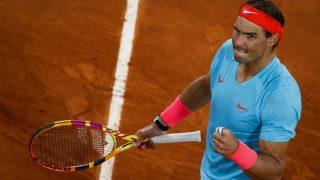 Nadal, durante Roland Garros. (AFP)