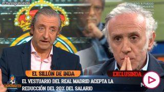 Los jugadores del Real Madrid afrontan recortes.