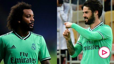 Marcelo e Isco.