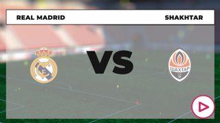 Real Madrid Shakhtar Donetsk