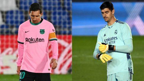Barcelona y Madrid fuera de los favoritos para ganar la Champions (AFP).