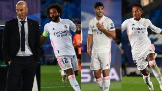 Los señalados por la derrota del Real Madrid ante el Shakhtar Donestk en Champions.
