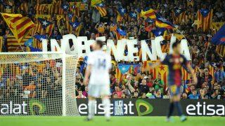 Imagen de un Barcelona – Real Madrid. (getty)