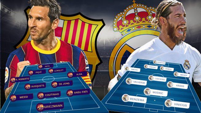 Barcelona – Real Madrid: Un Clásico en urgencias