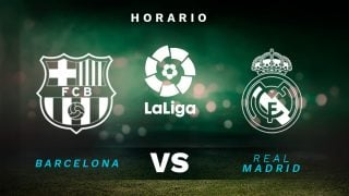 Barcelona – Real Madrid: Clásico de la jornada 7 de la Liga Santander.
