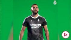 El Real Madrid presenta su cuarta equipación.