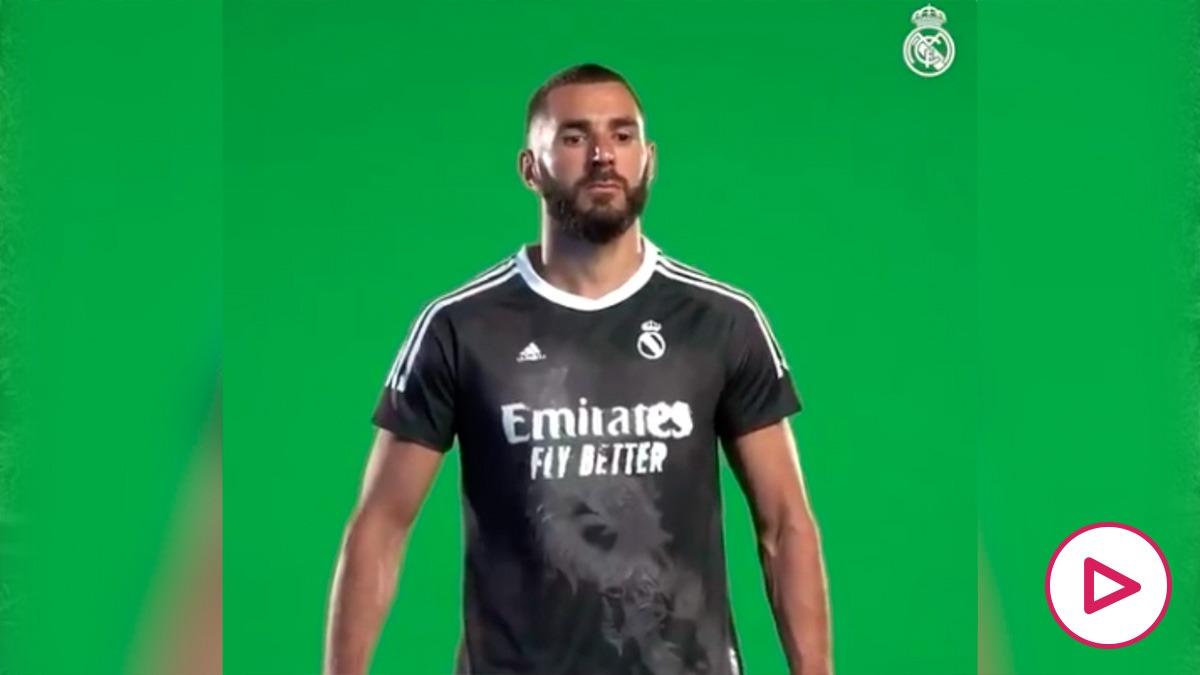 Clásico: El Real Madrid estrenará una nueva camiseta negra con un dragón - Barcelona - Real Madrid