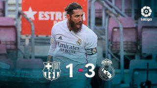 El Real Madrid se impuso 1-3 al Barcelona.