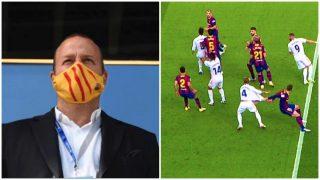 El directivo del Barcelona que tuvo palabras groseras hacia Martínez Munuera.