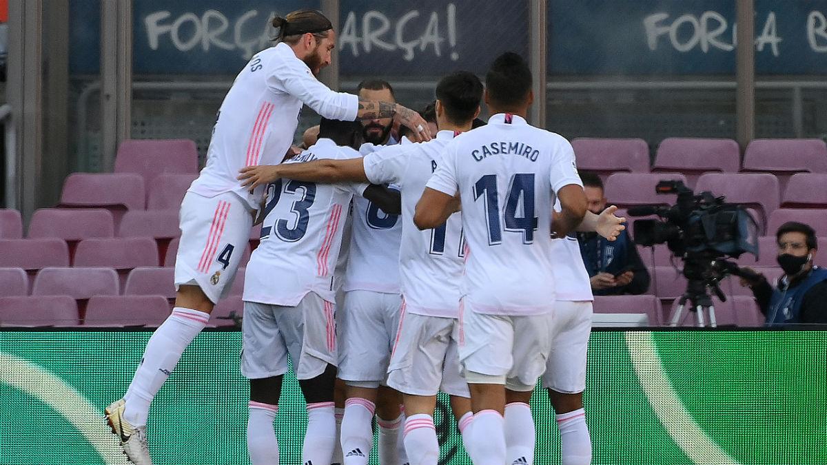 Las notas del Real Madrid en el Clásico: Lucas Vázquez pasó de ser un meme a ser un héroe