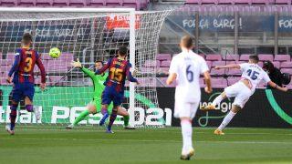 Valverde metió un gol al Barcelona. (GettY)