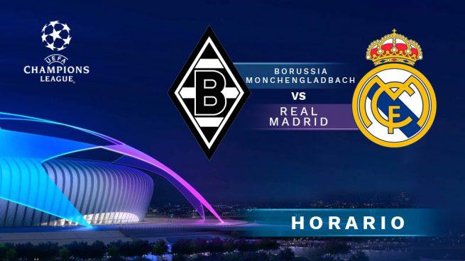 Horario Madrid Gladbach