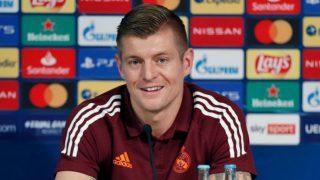 Toni Kroos salió a rueda de prensa.
