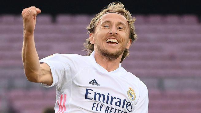 Modric: «¿Mi futuro? Todavía tengo un año en el Real Madrid y después veremos»