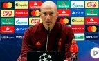 Zidane: «Si Hazard está con nosotros es porque está bien»