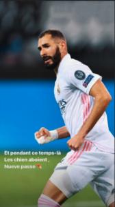 La respuesta de Benzema a la polémica con Vinicius: «Mientras los perros ladran, el nueve pasa»