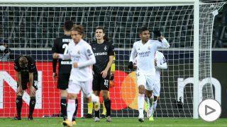 Casemiro durante el Borussia Mönchengladbach-Real Madrid. (Getty)