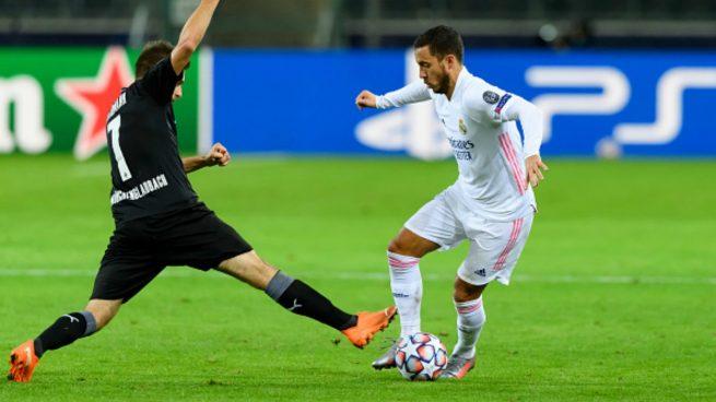 Alineación oficial del Real Madrid contra el Inter de Milán: Zidane apuesta por Asensio, Hazard y Benzema en ataque