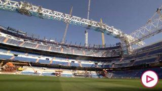 El nuevo vídeo de las obras del Bernabéu.