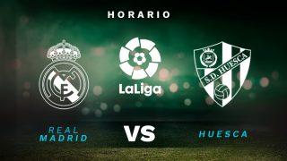 Liga Santander 2020-2021: Real Madrid – Huesca| Horario del partido de fútbol de la Liga Santander.