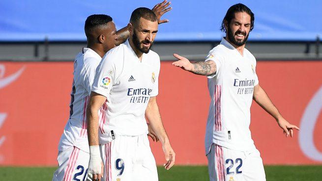 Benzema toma el mando