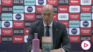 Zidane: «Necesitamos mucha energía entre nosotros, lo de fuera no ayuda»