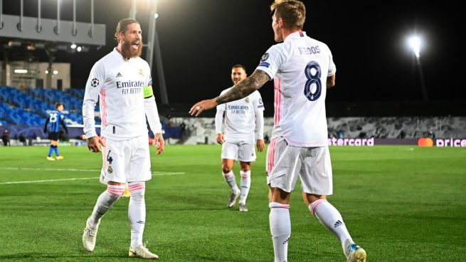 Clasificación Champions Real Madrid