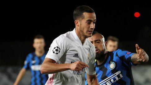 Lucas, durante el Real Madrid – Inter (EFE).