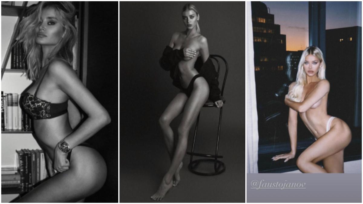Las tres fotos subidas por Sofija Milosevic.