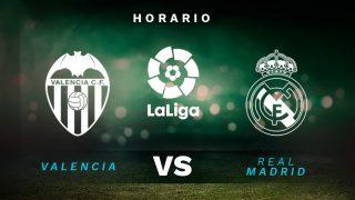 Liga Santander 2020-2021: Valencia – Real Madrid | Horario del partido de fútbol de la Liga Santander.